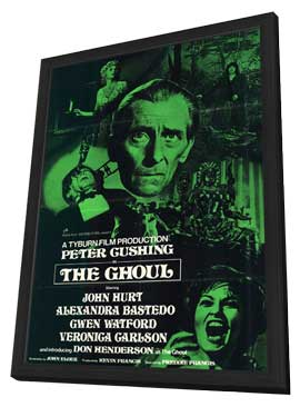 The Ghoul - 11 x 17 Movie Poster - Style A - in Deluxe Wood Frame