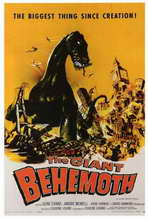 The Giant Behemoth - 27 x 40 Movie Poster - Style A