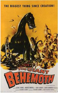 The Giant Behemoth - 43 x 62 Movie Poster - Bus Shelter Style A
