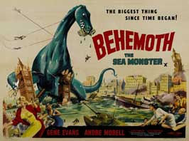 The Giant Behemoth - 30 x 40 Movie Poster UK - Style A