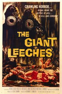 The Giant Leeches - 43 x 62 Movie Poster - Bus Shelter Style A