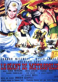 The Giant of Metropolis - 11 x 17 Movie Poster - French Style A