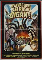 The Giant Spider Invasion - 11 x 17 Movie Poster - Italian Style A