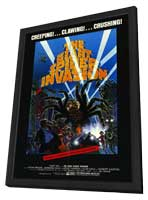 The Giant Spider Invasion - 27 x 40 Movie Poster - Style A - in Deluxe Wood Frame
