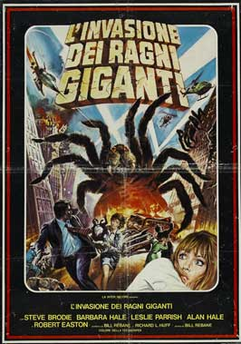 The Giant Spider Invasion - 27 x 40 Movie Poster - Italian Style A