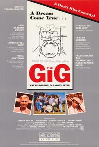 The Gig - 11 x 17 Movie Poster - Style A