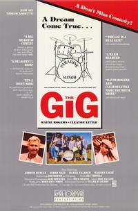 The Gig - 27 x 40 Movie Poster - Style A