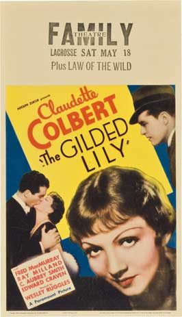 The Gilded Lily - 27 x 40 Movie Poster - Style A