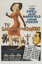 The Girl Can't Help It - 27 x 40 Movie Poster - Belgian Style A