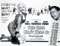 The Girl Can't Help It - 11 x 17 Movie Poster - Style C