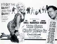 The Girl Can't Help It - 11 x 14 Movie Poster - Style E