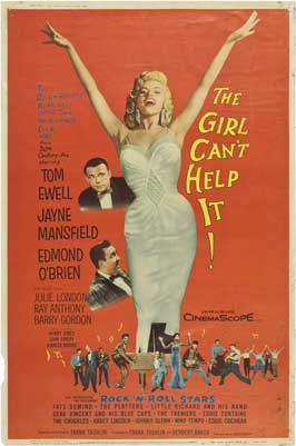 The Girl Can't Help It - 11 x 17 Movie Poster - Style D