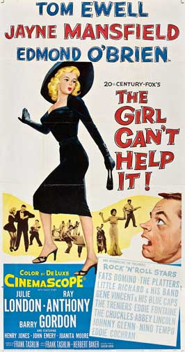 The Girl Can't Help It - 20 x 40 Movie Poster - Style A