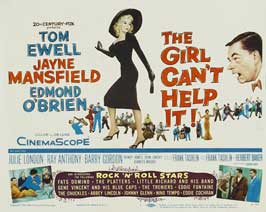 The Girl Can't Help It - 22 x 28 Movie Poster - Half Sheet Style A