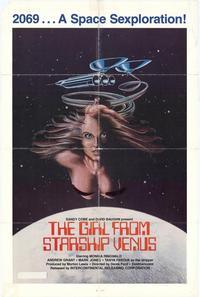 The Girl From Starship Venus - 11 x 17 Movie Poster - Style A