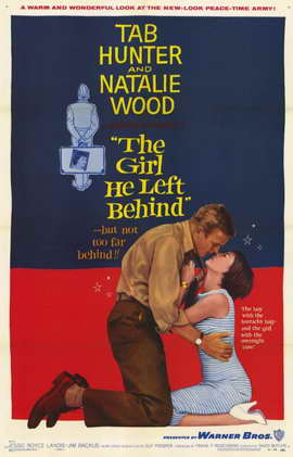 The Girl He Left Behind - 11 x 17 Movie Poster - Style A