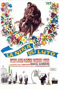 The Girl in Mourning - 11 x 17 Movie Poster - Spanish Style A