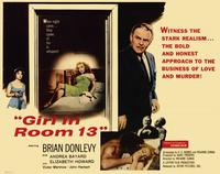 The Girl In Room 13 - 11 x 14 Movie Poster - Style D