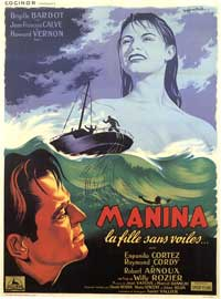 The Girl in the Bikini - 11 x 17 Movie Poster - French Style A