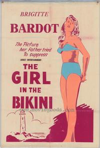 The Girl in the Bikini - 11 x 17 Movie Poster - Style C