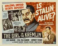 The Girl in The Kremlin - 22 x 28 Movie Poster - Half Sheet Style A