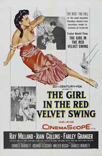 The Girl in the Red Velvet Swing - 27 x 40 Movie Poster - Style A