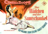 The Girl in the Red Velvet Swing - 27 x 40 Movie Poster - German Style A