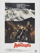 The Girl on a Motorcycle - 27 x 40 Movie Poster - French Style A