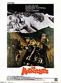 The Girl on a Motorcycle - 11 x 17 Movie Poster - French Style A