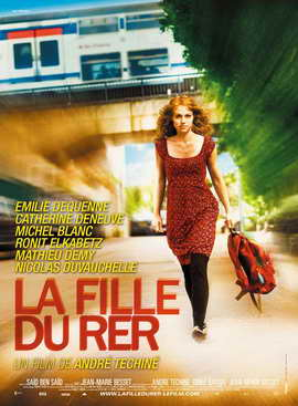 The Girl on the Train - 11 x 17 Movie Poster - French Style A