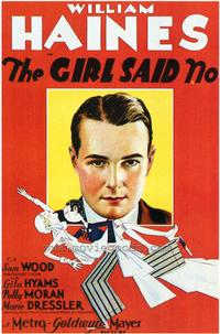 The Girl Said No - 43 x 62 Movie Poster - Bus Shelter Style A
