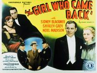 The Girl Who Came Back - 11 x 14 Movie Poster - Style A