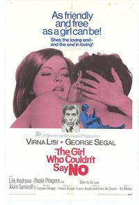 Girl Who Couldnt Say No - 27 x 40 Movie Poster - Style A