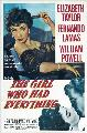 The Girl Who Had Everything - 27 x 40 Movie Poster - Style A
