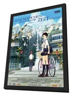 The Girl Who Leapt Through Time - 11 x 17 Movie Poster - German Style A - in Deluxe Wood Frame