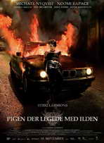 The Girl Who Played with Fire - 27 x 40 Movie Poster - Danish Style B