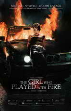 The Girl Who Played with Fire - 11 x 17 Movie Poster - Style B