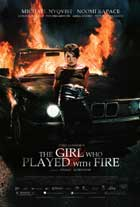 The Girl Who Played with Fire - DS 1 Sheet Movie Poster - Style A