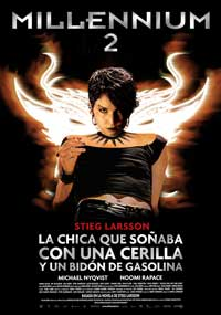 The Girl Who Played with Fire - 11 x 17 Movie Poster - Spanish Style A