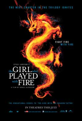 The Girl Who Played with Fire - 27 x 40 Movie Poster - Canadian Style A