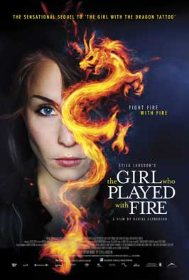 The Girl Who Played with Fire - 27 x 40 Movie Poster - Canadian Style B