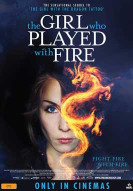 The Girl Who Played with Fire - 11 x 17 Movie Poster - Australian Style A