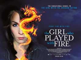 The Girl Who Played with Fire - 22 x 28 Movie Poster - UK Style A