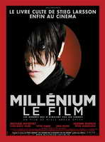 The Girl with the Dragon Tattoo - 27 x 40 Movie Poster - French Style A
