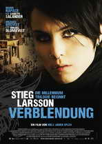 The Girl with the Dragon Tattoo - 27 x 40 Movie Poster - German Style A