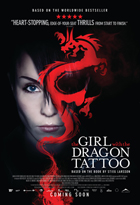 The Girl with the Dragon Tattoo - 11 x 17 Movie Poster - Canadian Style B