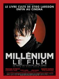 The Girl with the Dragon Tattoo - 11 x 17 Movie Poster - French Style A