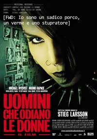 The Girl with the Dragon Tattoo - 11 x 17 Movie Poster - Italian Style A