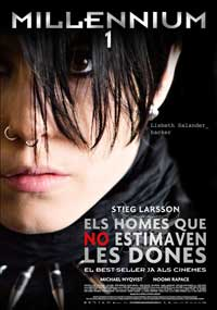 The Girl with the Dragon Tattoo - 11 x 17 Movie Poster - Catalan Style A