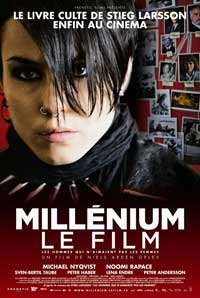 The Girl with the Dragon Tattoo - 11 x 17 Movie Poster - French Style B